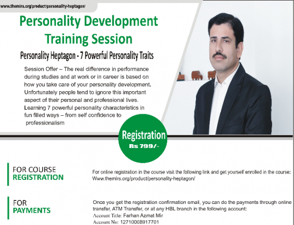 Personality Development for the Web